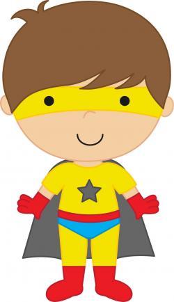 Super Girl clipart tot
