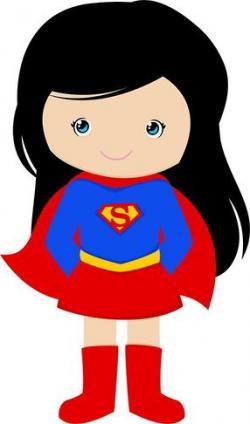 Supergirl clipart cute
