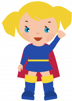 Super Girl clipart
