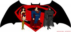 Comics clipart superman vs batman