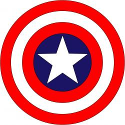 Shield clipart captain america