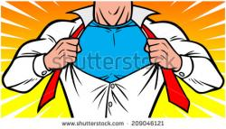 Superman clipart chest