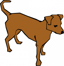 Hound clipart dog running