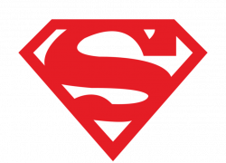 Superman clipart emblem