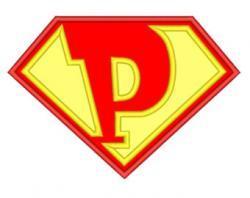 Superman clipart font