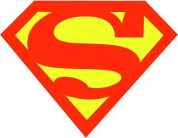 Superman clipart graphic