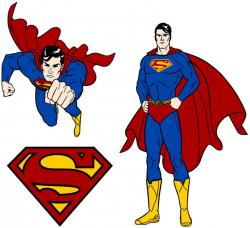 Superman clipart hero