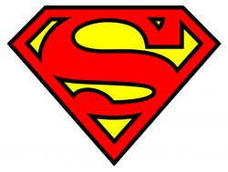 Superman clipart large