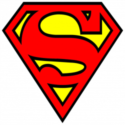 Superman clipart original