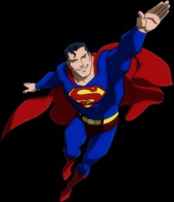 Superman clipart psd