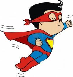 Superman clipart superman kid