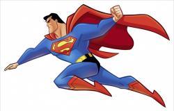 Superman clipart supper