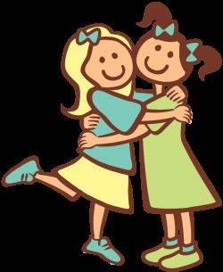 Hug clipart friendship