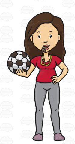 Supporters clipart soccer game