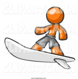 Surfer clipart cool dude
