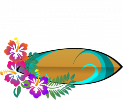 Decoration clipart hawaiian