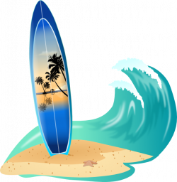 Weaves clipart surf wave