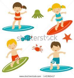 Surfing clipart surfer