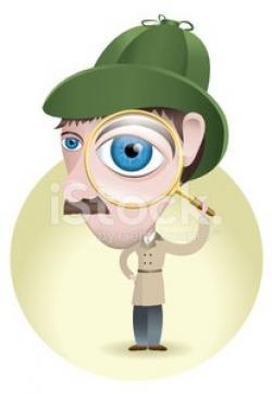 Surveillance clipart clue