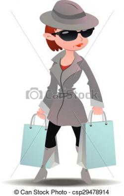 Surveillance clipart mystery shopper