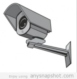 Surveillance clipart vector