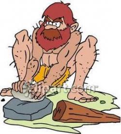 Caveman clipart tool
