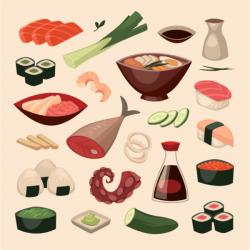 Japanese Food clipart good taste