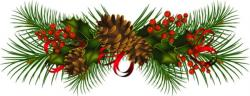 Poinsettia clipart holiday garland