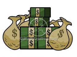 Cash clipart wad cash
