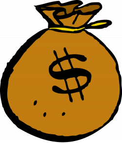 Swag clipart sack money