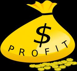 Coin clipart profit