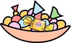 Candy Bar clipart bowl candy