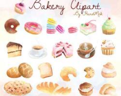 Dessert clipart baked goody