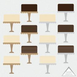 Chocolate Cake clipart cupcake stand