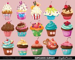 Cupcake clipart dessert