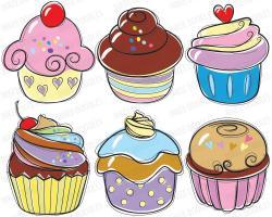 Drawn cupcake killer