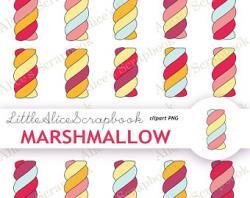 Marshmellow clipart