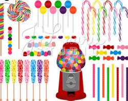Sweets clipart candy store