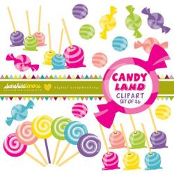 Sweets clipart candyland