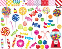 Chewing Gum clipart rainbow candy