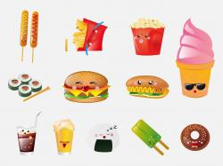 Sweets clipart cartoon food