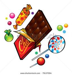 Candy Bar clipart candy lollipop