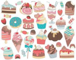Sweets clipart cute candy