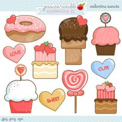 Sweets clipart cute dessert