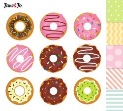 Cupcake clipart donut
