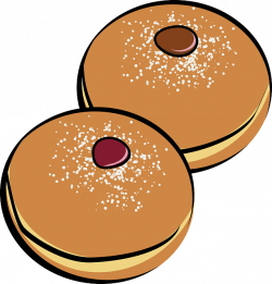 Bagel clipart chocolate