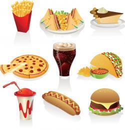 McDonald's clipart fatty food