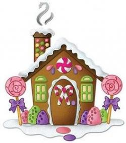 Gingerbread clipart cute cottage