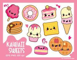 Macaron clipart kawaii