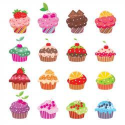 Wallpaper clipart cupcake